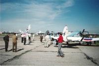 Аэродром Ходынка - точка старта и начало большого перелёта.