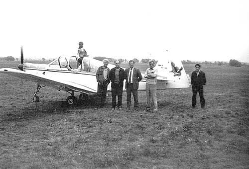 Аист-123М в Коробчеево