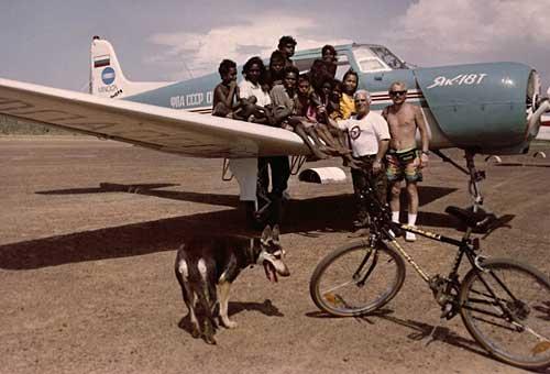 освящение самолетов
